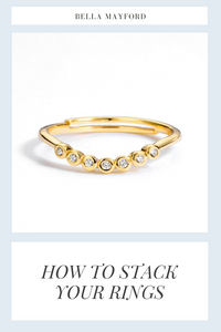How To Stack York Rings