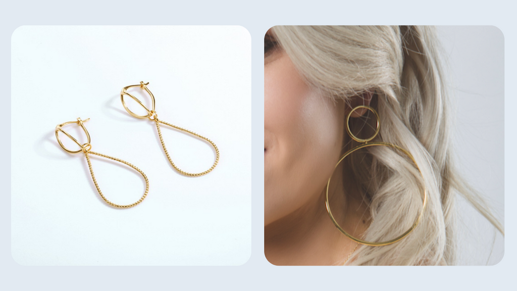BELLA BAYFORD BLOG POST ABOUT LARGE HOOP EARRINGS