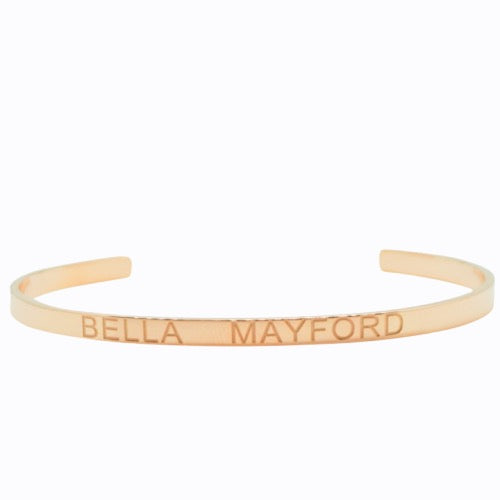 Bella Mayford Cuff, Rose Gold