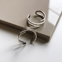 Harmony Open Ring, Sterling Silver