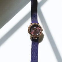 The Timeless Lux. Rose Gold And Wine Purple