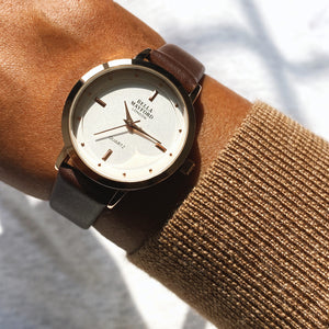 Bella Mayford, Classic Lady, Brown Leather Strap