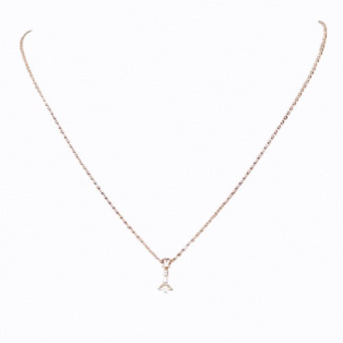 Signature Queen Fine Chain Necklace, Rose Gold