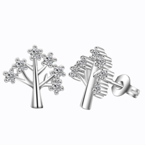 Sparkling Family Tree, Sterling Silver