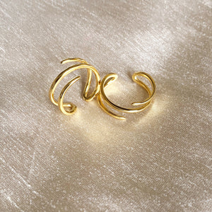 Harmony Open Ring, Gold