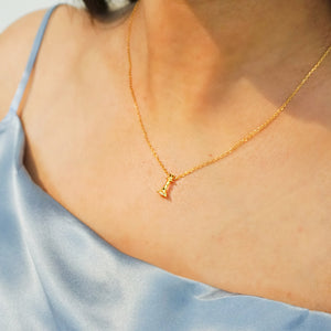 Signature Queen Fine Chain Necklace, Gold - Bella Mayford