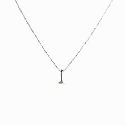 Signature Queen Fine Chain Necklace, Sterling Silver