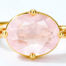 Rose Quarts Pink Oval Gemstone