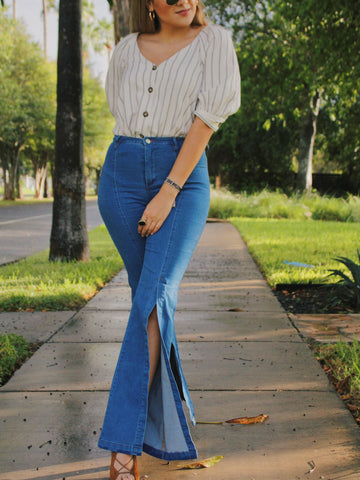 Donna High Waisted Flare Jeans $62.00