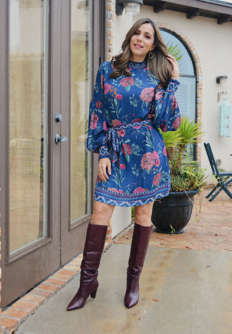 Harper Floral Dress $54.00