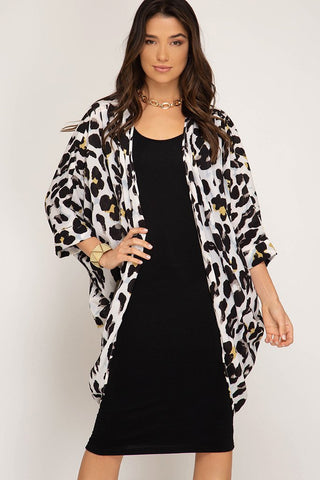 Leopard Cardigan Cardigan Duster $36.00 || The Casual Midi Dress $29.99