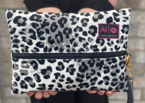 Makeup Junkie Bag - Jungle Cat Sable