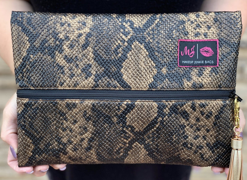 Makeup Junkie Bag - Serpentina