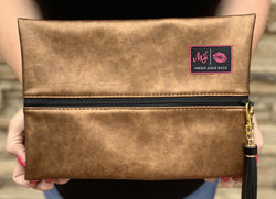Makeup Junkie Bag- Copper
