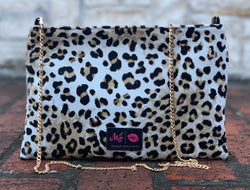 Makeup Junkie Bag - Jungle Cat Tan