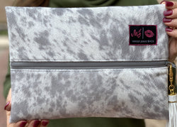Makeup Junkie Bag - Lola Grey