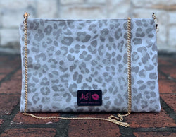 Makeup Junkie bag Crossbody -Makeup Junkie Bag - Jungle Cat Smokey *Pre Order