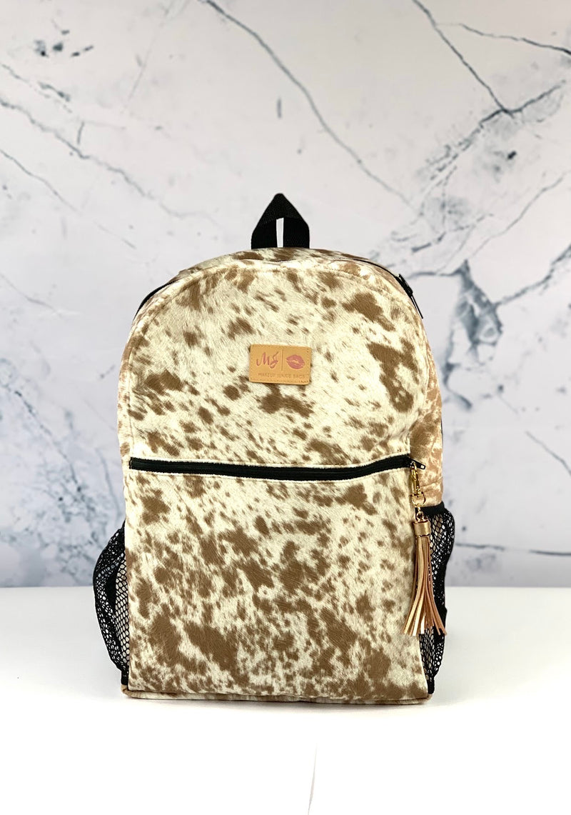Makeup Junkie Backpack - Lola Tan *Pre Order