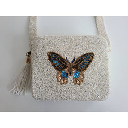 Tiana Designs - beaded butterfly bag *Pre Order