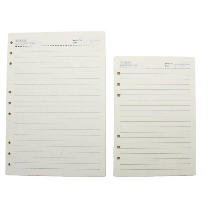 Agenda Notebook - Refill papers
