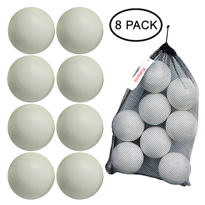 Kidtastic T-ball Balls, 3.5-inch, (8 pack) with Durable Mesh Ball Bag