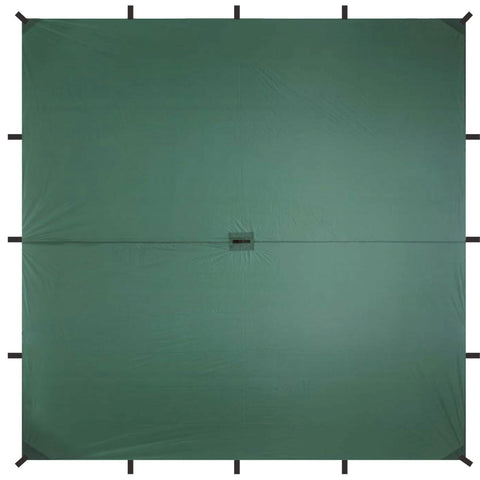 Guide Sil Tarp - Square  (10 x 10 ft ) - Aqua Quest Waterproof