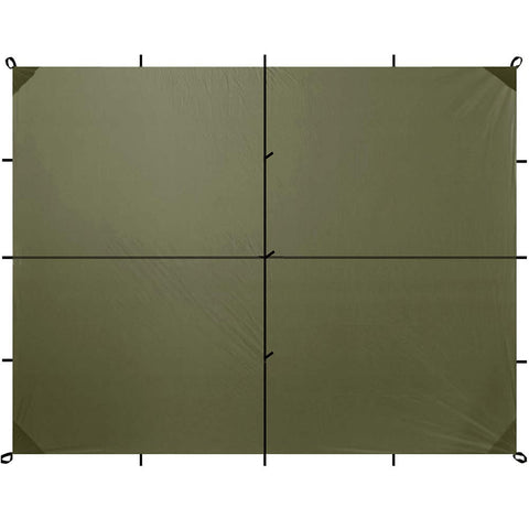 Safari Sil Tarp - Large (13 x 10 ft) - Aqua Quest Waterproof