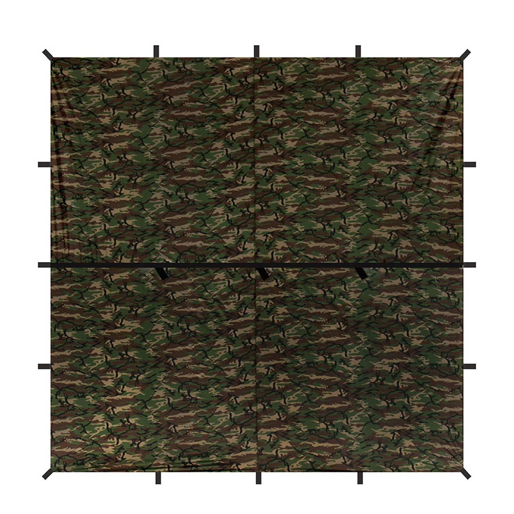 Safari Sil Tarp - Square <br/> 10 x 10 ft - Aqua Quest Waterproof