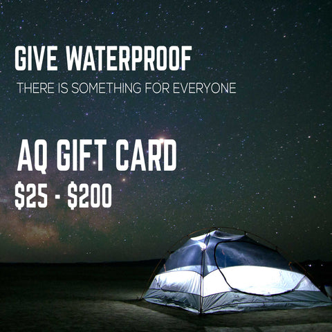 AQ GIFT CARD - Aqua Quest Waterproof