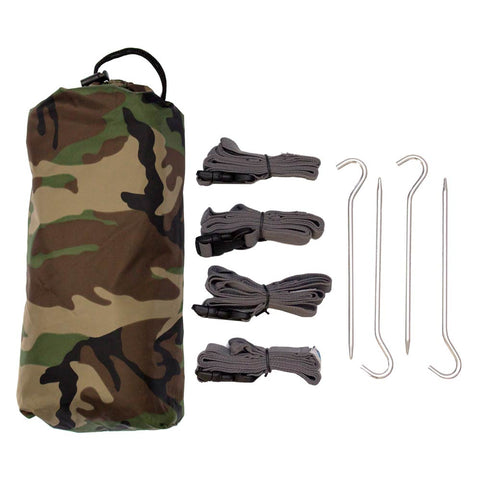 Defender Camo Tarp Kit - Medium - Aqua Quest Waterproof