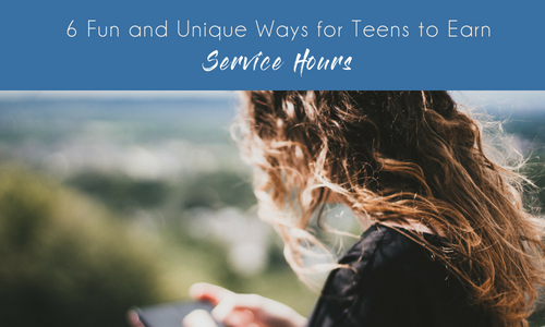 6 Fun and Unique Ways for Teens to Earn Required Service Hours