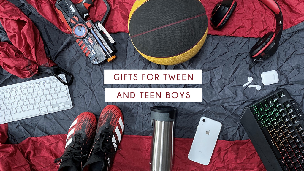 Best Gifts for Tween & Teen Boys [2021 Gift Guide]
