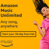 Amazon Music Unlimited, free 30-day trial