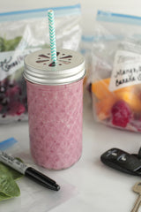 DIY Freezer Smoothie Packs from Live Simply