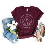 Explore More, Simply Sage, graphic tees for moms