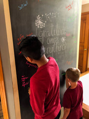 Gratitude Wall - Sigler family - SALT effect