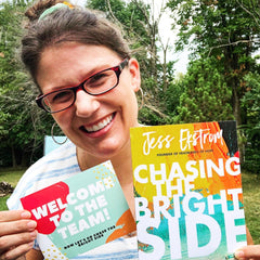Chasing the Bright Side by Jess Ekstrom - SALT effect book launch team