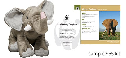 WWF Adoption Kit