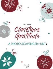 Christmas Gratitude Photo Scavenger Hunt