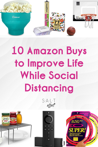 SALT effect - 10 Amazon buys to improve life while social distancing