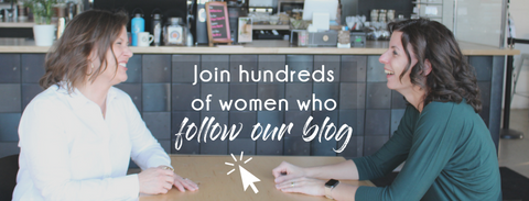 Join hundreds of women who follow our blog