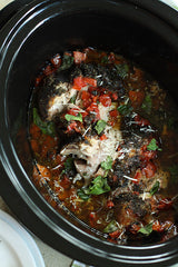 Crockpot Italian Pork Roast from Freezer Family