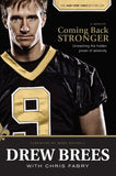 Coming Back Stronger, Drew Brees, books for tweens