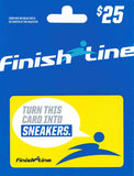 Finish Line gift card on SALT effect Best Gifts for Tween and Teen Boys - best gifts for 14-year-old boys