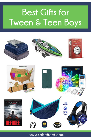 gifts for tween and teen boys  on SALT effect Best Gifts for Tween and Teen Boys - best gifts for 10-year-old boys