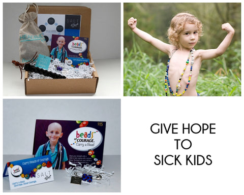 Give hope to sick kids box