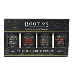 Root 23 syrup - black sample box - SALT effect - Mother's Day 2020 - Mother's Day 2020 gift list - gifts for mom - Ohio small business - Columbus small business - shop small in Ohio - shop local in Columbus