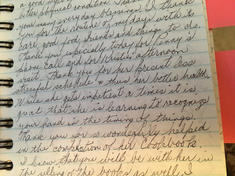 Kristie's grandma's journal