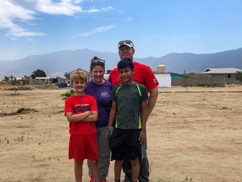 Sigler family in Mexico