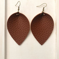 Pash Leather - leather earrings - custom leather earrings - SALT effect - Mother's Day 2020 - Mother's Day 2020 gift list - gifts for mom - Ohio small business - Columbus small business - shop small in Ohio - shop local in Columbus